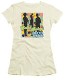 Juniors: The Mod Squad - Solid Mod Pattern T-Shirt
