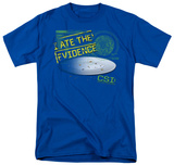 CSI - I Ate the Evidence T-shirts