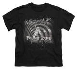 Youth: Twilight Zone - I Survived the Twilight Zone T-Shirt