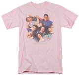Beverly Hills 90210 - Gang in Logo T-shirts