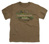 Youth: Survivor - Gabon Distressed T-shirts