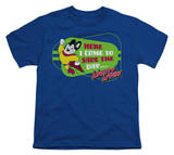 Youth: Mighty Mouse - Here I Come! T-Shirts