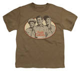 Youth: Andy Griffith - 3 Funny Guys T-Shirt