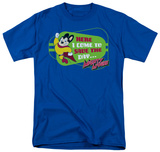 Mighty Mouse - Here I Come! T-shirts