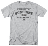 Taxi - Property of Sunshine Cab Co. T-Shirt