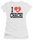 Juniors: Happy Days - I Heart Chachi T-Shirt