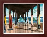 Pier Print by Scott Westmoreland