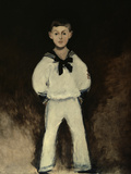 Portrait of Henry Bernstein As a Boy Giclee Print by Édouard Manet