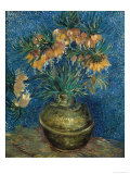 Fritillaries in a Copper Vase Posters by Vincent van Gogh