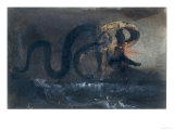 The Serpent Giclee Print by Victor Hugo