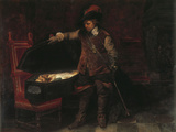 Oliver Cromwell Giclee Print by Paul Delaroche