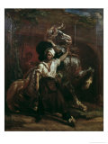 The Sign Board of the Farrier Giclee Print by Jean-louis-andre-theodore Gericault