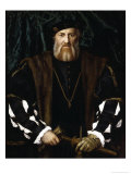 Portrait of Charles de Solier Giclee Print by Hans Holbein the Younger