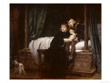 The Princes in the Tower Giclee Print by Paul Delaroche