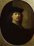 Portrait of Rembrandt Poster by  Rembrandt van Rijn