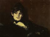 Berthe Morisot Reclining Poster by Édouard Manet