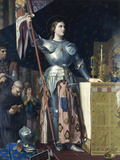 Jeanne d'Arc Giclee Print by Jean-Auguste-Dominique Ingres