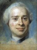 Jean Le Rond D'Alembert Giclee Print by Maurice Quentin de La Tour