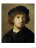 Self-Portrait Posters by  Rembrandt van Rijn