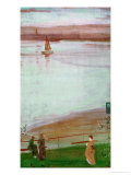 Variations in Violet and Green Posters by James Abbott McNeill Whistler