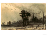 Landscape Posters by Victor Hugo