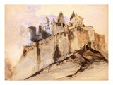 Castle at Vianden Giclee Print by Victor Hugo
