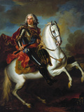 Augustus II the Strong Giclee Print by Louis de Silvestre