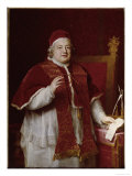 Pope Clement XIII Print by Pompeo Batoni