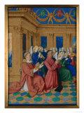 Etienne Chevalier Print by Jean Fouquet