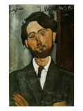 Portrait of Leopold Zborowski Giclee Print by Amedeo Modigliani