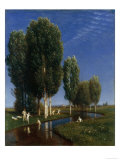 Summer Day Posters by Arnold Bocklin