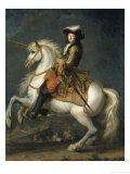 Louis XIV of France Giclee Print by Renã© Antoine Houasse