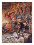 Eviradnus Posters by Eugene Grasset