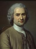 Jean-Jacques Rousseau Giclee Print by Maurice Quentin de La Tour