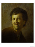 Self-Portrait Print by  Rembrandt van Rijn