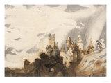 Le Gai Chateau Print by Victor Hugo