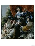Louis XIII Poster von Simon Vouet
