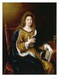 Francoise D'Aubigne Marquise Maintenon Poster by Pierre Mignard