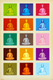 Buddha - Pop Art Poster