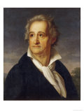 Johann Wolfgang Von Goethe Giclee Print by Heinrich Kolbe