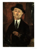 Portrait of Paul Guillaume Giclee Print by Amedeo Modigliani