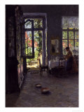 The Garden Room Giclee Print by Gotthardt Johann Kuehl