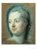Madame de Pompadour Giclee Print by Maurice Quentin de La Tour