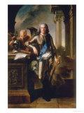 Marechal de Saxe, Moritz Count of Saxony Posters by Jean-Marc Nattier