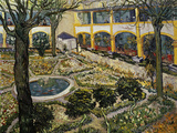 Garden of the Hospital at Arles Giclee Print by Vincent van Gogh