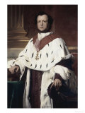 Count Narcisse Achille de Salvandy Giclee Print by Paul Delaroche
