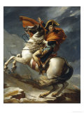 Napoleon Crossing the Alps Giclee Print by Jacqueline David