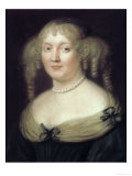 Portrait of Marie Marquise de Sevigne Giclee Print by Robert Nanteuil
