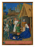 Charles VII of France Posters by Jean Fouquet