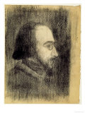 Erik Satie Prints by Paul Signac